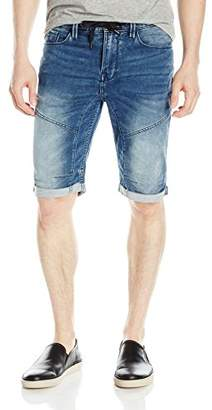 GUESS Men's Slim Lounge Moto Short