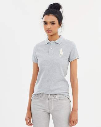 Polo Ralph Lauren Skinny Short Sleeve Knit Polo