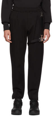 Alyx Black Bondage Lounge Pants