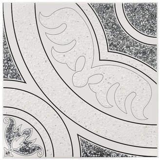 EliteTile SAMPLE - Massa Ceramic Floor and Wall Tile in Black
