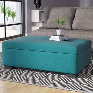 Brayden Studio Saito Sleeper Ottoman Upholstery