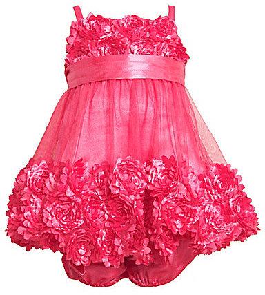 Bonnie Baby Infant Bonaz Bubble Dress