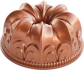 Nordicware Non-Stick Fleur De Lis Bundt Pan, Copper