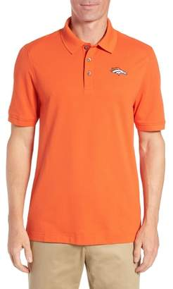 Cutter & Buck Denver Broncos - Advantage Regular Fit DryTec Polo