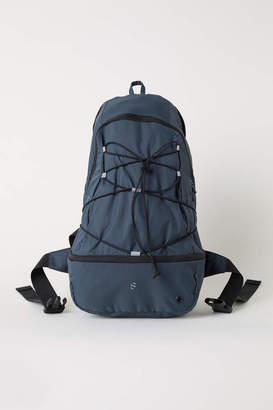 H&M Running Backpack - Steel blue - Men