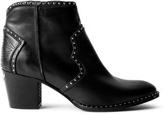 Zadig & Voltaire Women's Molly Studded Western Ankle Booties
