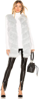 KENDALL + KYLIE Faux Fur Vest