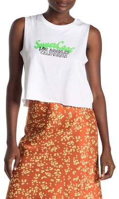 Cotton On Front Graphic Print Tank Top