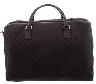 Gucci GG Canvas Large Carryall Duffel Bag