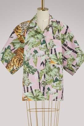 Kenzo Bamboo Tiger reversible shirt