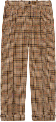 Gucci 70s Prince of Wales wool pant