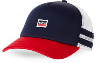 Levi's Navy Logo Trucker Hat