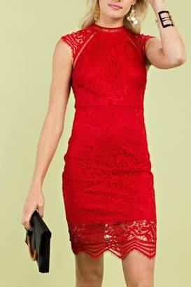 Pretty Little Things Raglan Midi Dress
