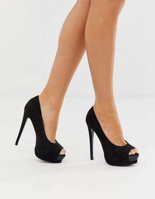 Asos Design DESIGN Playful platform high heels