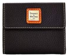 Dooney & Bourke Small Leather Card Wallet