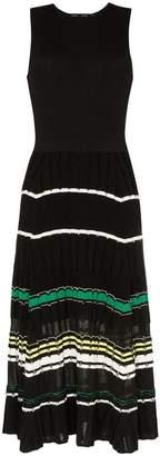 Proenza Schouler sleeveless ribbed skirt knitted dress