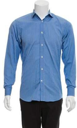Ralph Lauren Black Label Striped Dress Shirt