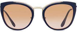Prada cat-eye shaped sunglasses