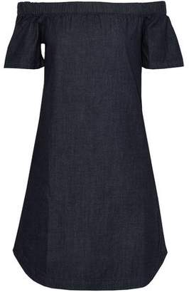 3x1 Off-The-Shoulder Denim Mini Dress