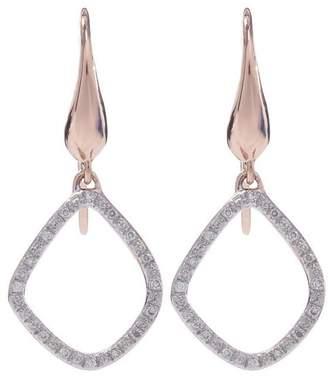 Monica Vinader Gold-Plated Diamond Riva Kite Earrings