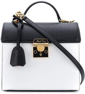 Mark Cross Sara colourblock saffiano bag