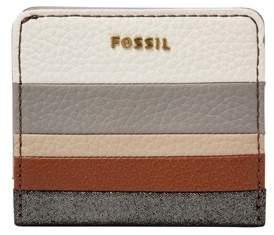 Fossil Madison Bifold Wallet Neutral Stripe