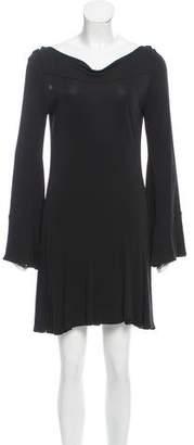 Diane von Furstenberg Flounce Mini Dress