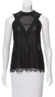 Yigal Azrouel Sleeveless Lace Top w/ Tags