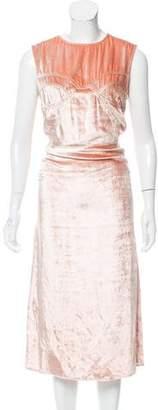 Tome Picasso Midi Dress