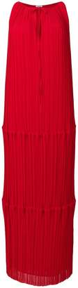 P.A.R.O.S.H. pleated column dress