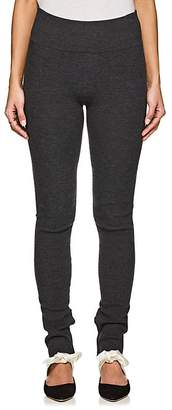 The Row Women's Ablene Rib-Knit Wool-Blend Leggings