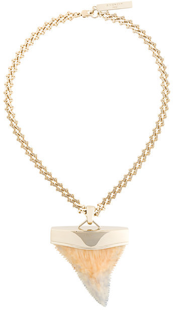 GivenchyGivenchy large shark tooth necklace