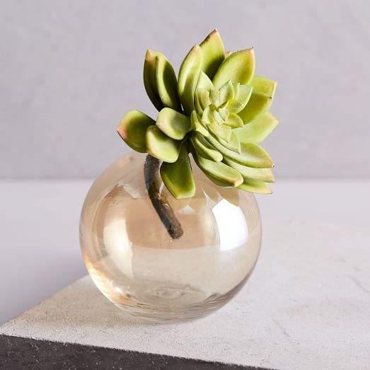 Faux Succulent Stem - Echeveria