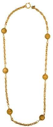 Chanel 31 Rue Cambon Coin Station Necklace