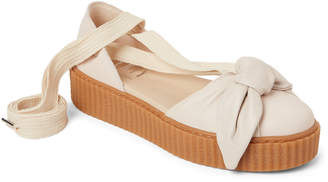 FENTY PUMA by Rihanna Oatmeal Bow Creeper Sandals