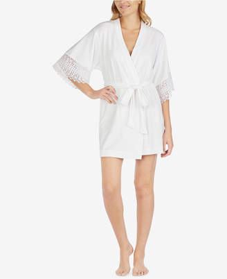 "Betsey Johnson Mrs."" Sheer Lace Robe"