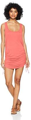 Lucky Brand Women's Side-Shirred Tank Tunic Cover-up Dress