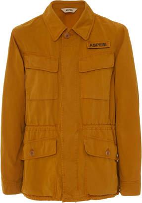 a74916010 Aspesi Bastogne Cotton-Twill Field Jacket