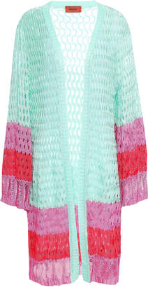 Missoni Marled Open-knit Cardigan