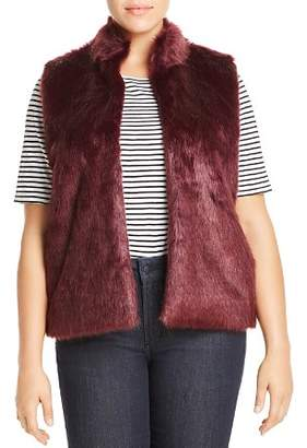 MICHAEL Michael Kors Faux Fur Sweater-Back Vest