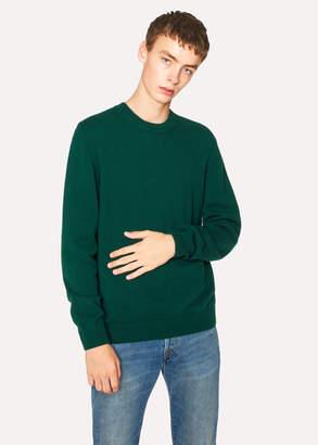 Paul Smith Men's Dark Green Lambswool Sweater