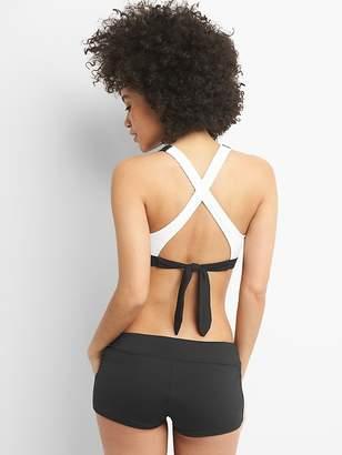 Gap GapFit High-Neck Tie-Back Bikini Top