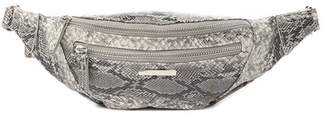 Vince Camuto Snake Embossed Leather Belt Bag