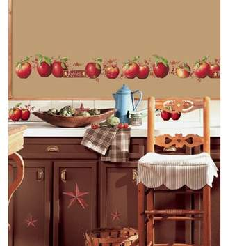 RoomMates Peel and Stick Decor Wall Decals. Country Apples. 40 Pieces