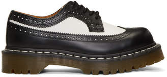 Dr. Martens Black and White 3989 Bex Longwing Brogues