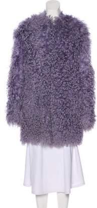 Emilio Pucci Shearling Short Coat