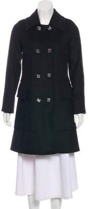 Marc by Marc Jacobs Double-Breasted Virgin Wool Coat