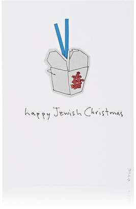 "Constance Kay ""Happy Jewish Christmas"" Card"