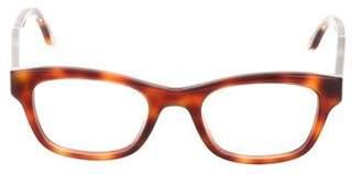 Stella McCartney Tortoiseshell Square Eyeglasses