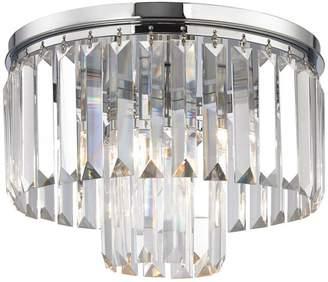 ELK Lighting Palacial 1-Light LED Pendant with Polished Chrome